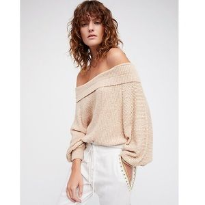 Free People Edessa Pullover Knit Sweater